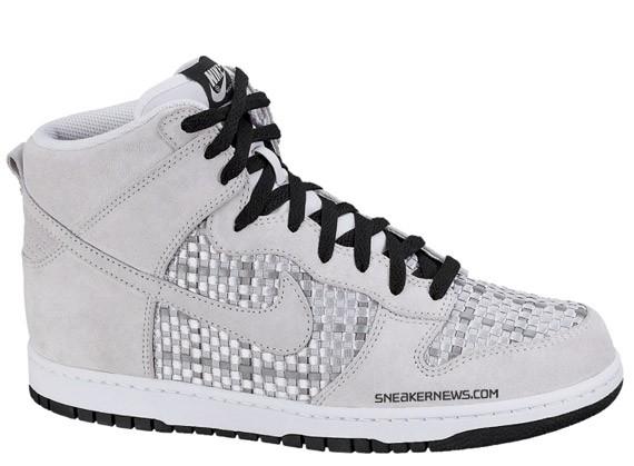 e0b6b4104254 ... where can i buy nike dunk high premium 08 3m woven neutral grey black  white sneakernews