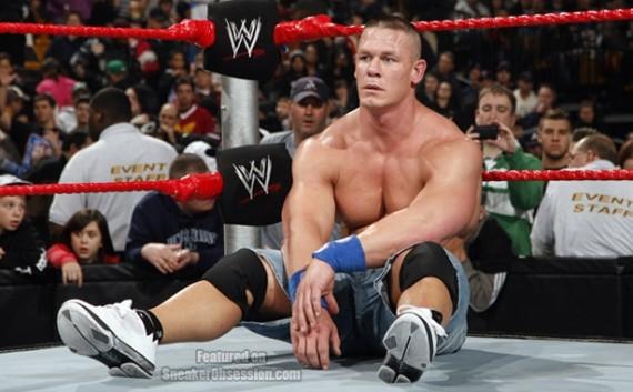 WWE Champ John Cena in the Air Jordan 2009
