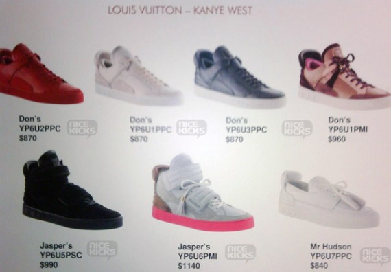 price of louis vuitton sneakers