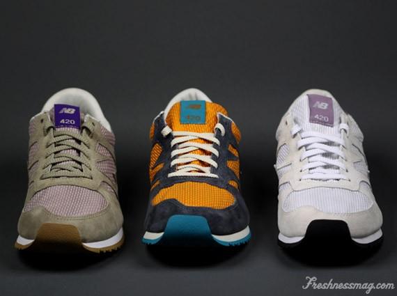New Balance 420 - Schoeller See-Thru Pack