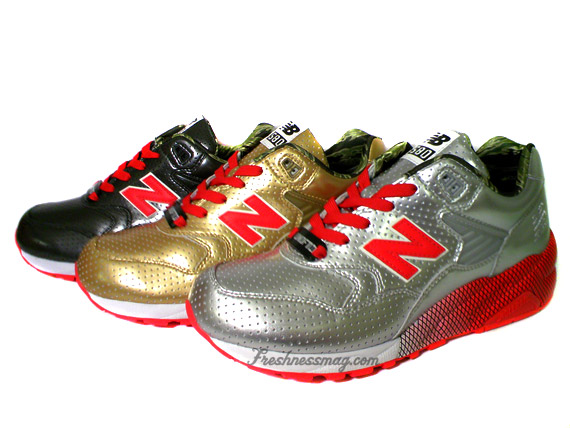 Undefeated x New Balance 580 Full Metal Jacket