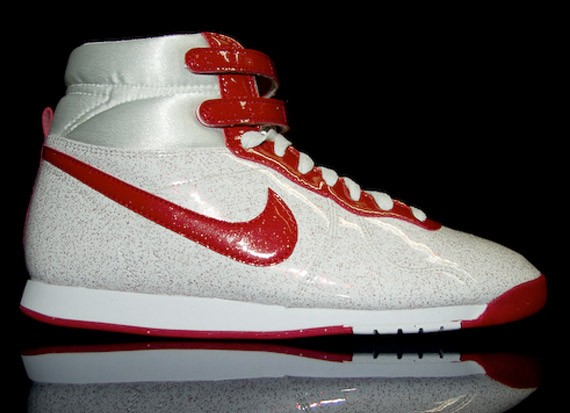 Nike Aerofit High WMNS - Speckled Patent Leather - SneakerNews.com 9d682e1f4202