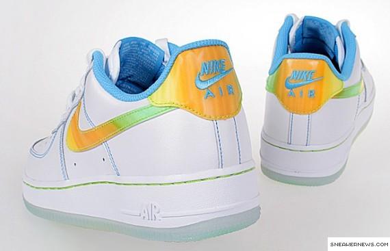 official photos 33808 97a91 Nike Air Force 1 - White - Cyan - Citron