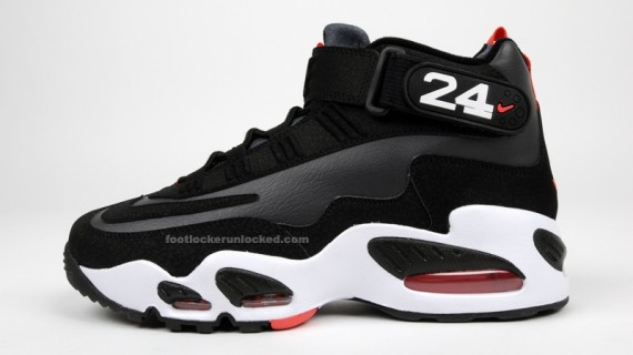 new arrivals bdf40 00658 Nike Air Griffey Max 1 - Black - White - Red - SneakerNews.com