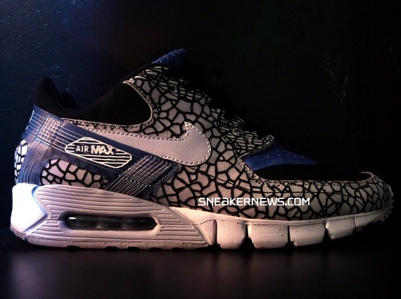 best loved d9369 c7fca The next hybrid of the Nike Air Max 90 set to release later this year as  some of you may know is the Air Max 90 Current Huarache which mixes the Air  Max 90 ...