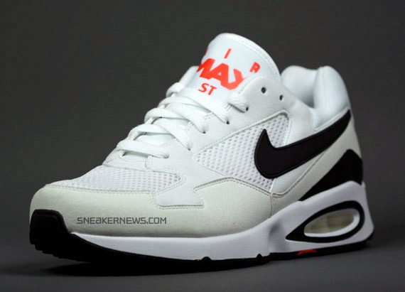 Nike Air Max ST - White - Black - Hot Red