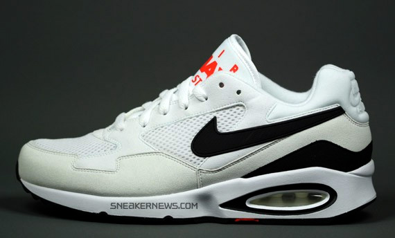 Nike Air Max ST White Black Hot Red Fall 2009