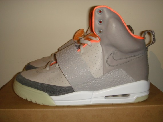 Nike Air Yeezy - Zen Grey - Light Charcoal - Detailed Photos