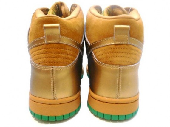 ike Dunk High Pro SB - Lucky - Wheat - Metallic Gold