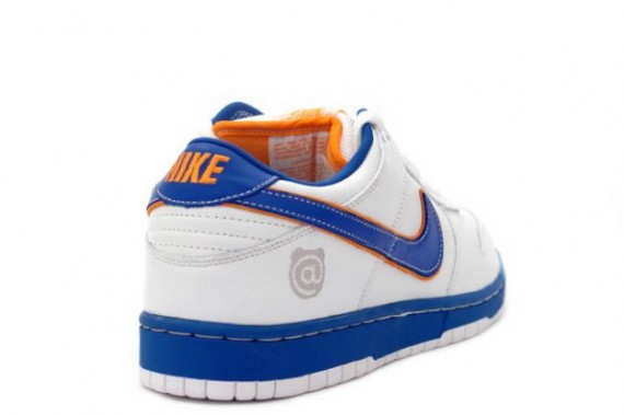 Nike Dunk Low Pro SB - Medicom I - White - College Blue