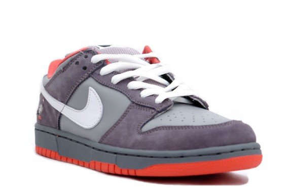 Nike Dunk Low Pro SB - Pigeon - Medium Grey - White - Dark Grey