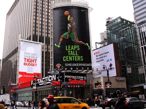 80 Foot Tall Nike x Nate Robinson Kryptonate Billboard