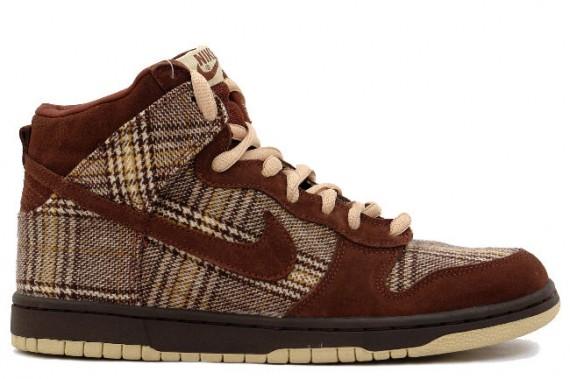 Nike Dunk High Pro SB - Tweed Pack High - Baroque Brown - Mushroom - Tweed
