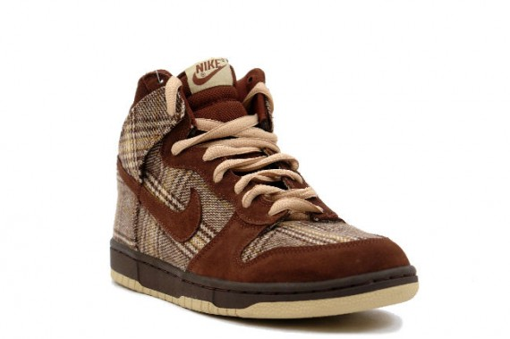 Nike Dunk High Pro SB - Tweed Pack High - Baroque Brown - Mushroom - Tweed