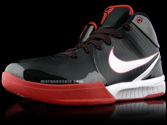 huge discount 781cf a949d Nike Zoom Kobe IV – Black – White – Red