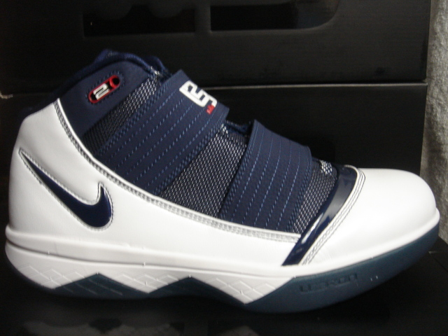 b293c5e20698 Nike Zoom LeBron Soldier III - White - Navy Blue - SneakerNews.com