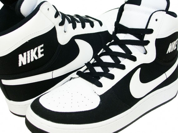 Nike Sky Force High - Black - White
