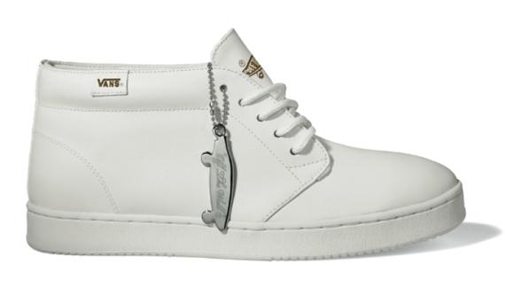 Vans Vault Chukka Boot Cup - White   Black/White - SneakerNews.com
