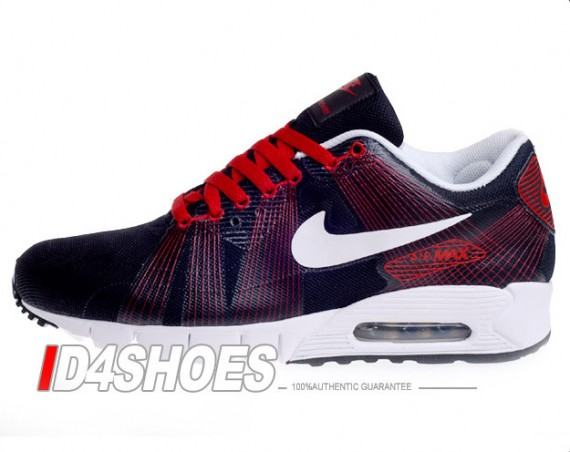 577f214cb8e Nike Air Max 90 Current Flywire - Black - Varsity Red - SneakerNews.com