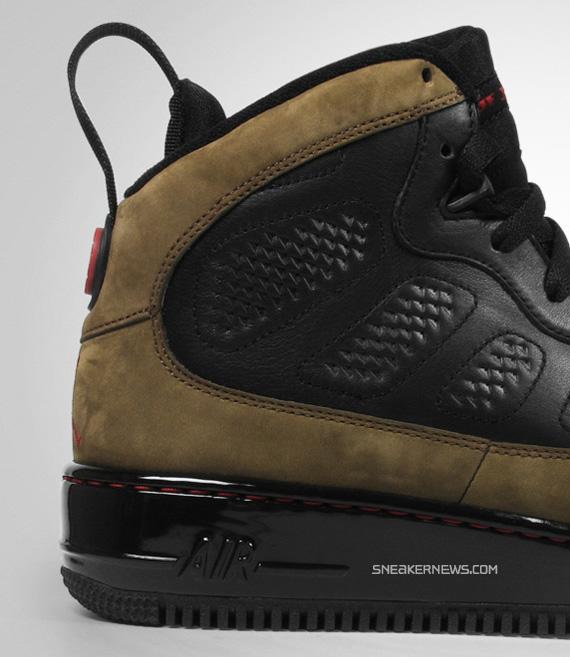 Air Jordan Force IX (AJF 9) Premier - Black - Varsity Red - Light Olive -  SneakerNews.com 093bf9a11f