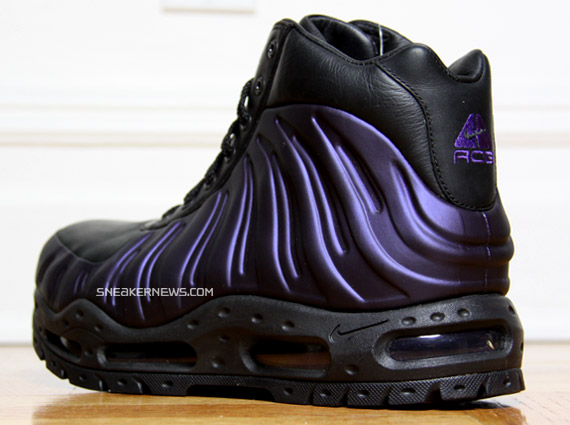 best authentic 2905f 44b3a Nike Foamposite Boot (Foamdome) - Eggplant - SneakerNews.com