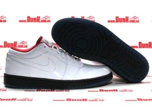 low priced 7ac7b 43731 Air Jordan 1 Phat Low Premium – Tuxedo Prom Pack – White – Varsity Red