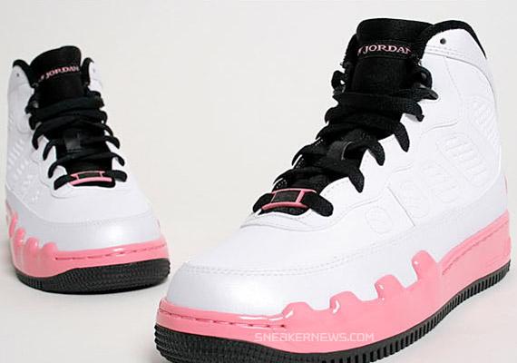 Air Jordan Force IX (AJF 9) GS - White Pink - Dear Mama ... 95ff4e0bd