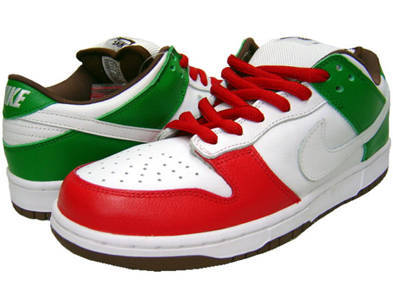 nike sb dunk vintage low mexican
