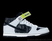 size 40 0ab2d b03f4 Nike Dunk Mid SB - Skate Mental - Black - Black - SneakerNew