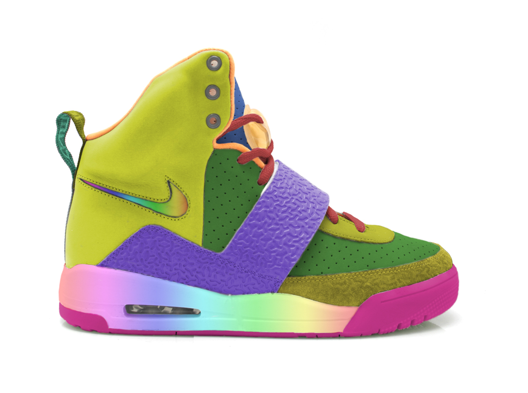 424428be70f424 Here is a pair of extremely gay Nike Air Yeezy Gay Fish. This pair is a  sample pair created just for West right before he jumped into the ocean and  ...