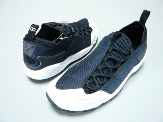 super popular 0835e acc62 fragment design x Nike Air Footscape HF TZ - Dark Obsidian - White ...