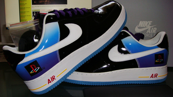 c1abf4121b0 Nike Air Force 1 x Playstation 10th Anniversary eBay Auction For ...