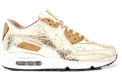nike air max 90 all gold