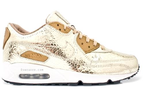 гиље које носите Nike-air-max-90-gold-crocodile-print-1