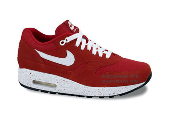 Nike Air Max Otoño De 2009 1 Moteado Rojo Kopenhagen ymJvThBk