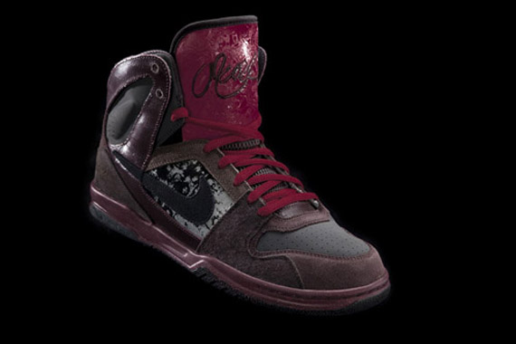 83610ba58 durable modeling 3 Inches of Blood x Nike 6 0 Zoom Oncore High ...