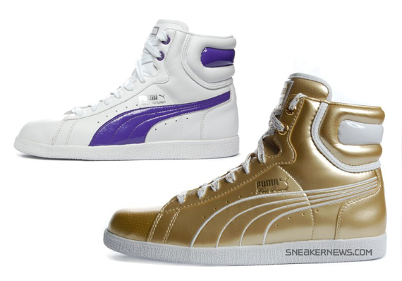gold high top pumas 502bfee54