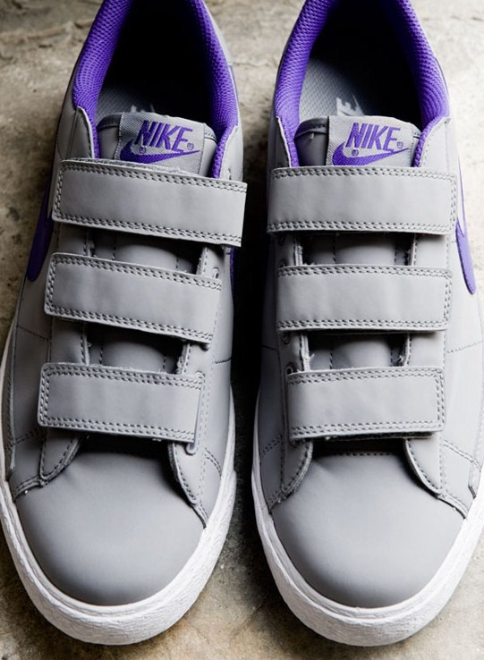 Cuir Nike Blazers Bas Ac
