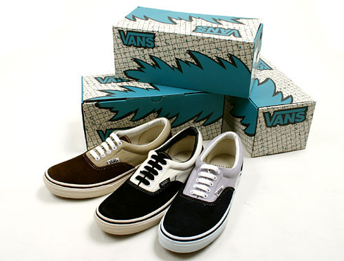 The Vans Era s simple construction makes it one of the best models for  simple colour contrasts and mixed fabrics. This newest pack utilizes both  to great ... d007217f2