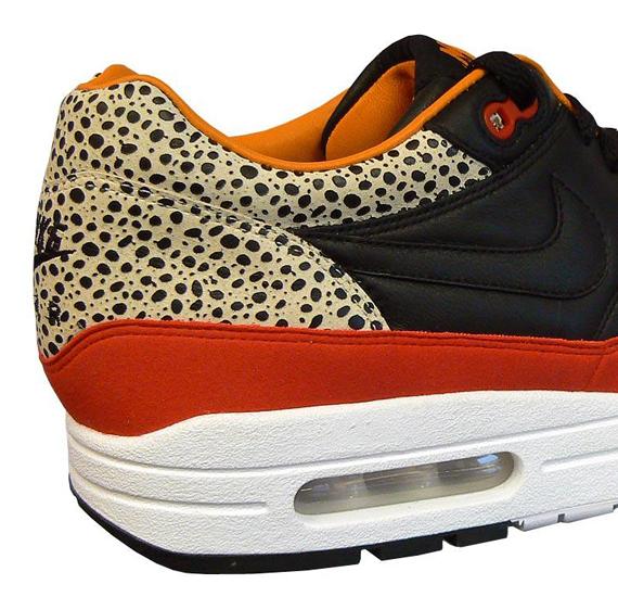 Nike Air Max 1 Premium Safari - Black