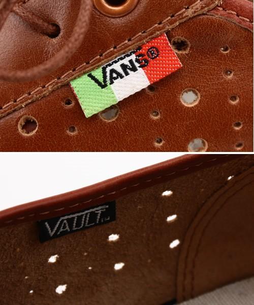 fbb162a331 new Vans Vault Supercorsa White + Brown - ramseyequipment.com