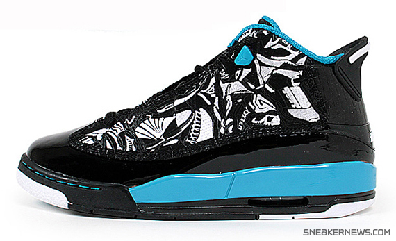 Air Jordan Dub Zero - Black - White - Laser Blue - SneakerNews.com c0f32dc7a