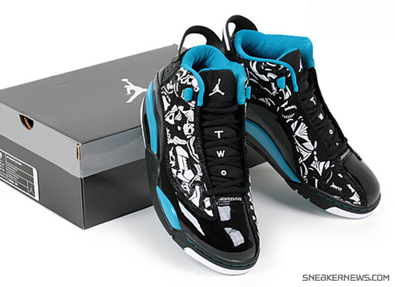best Air Jordan Dub Zero Black White Laser Blue - s132716079 ... b84c681cc