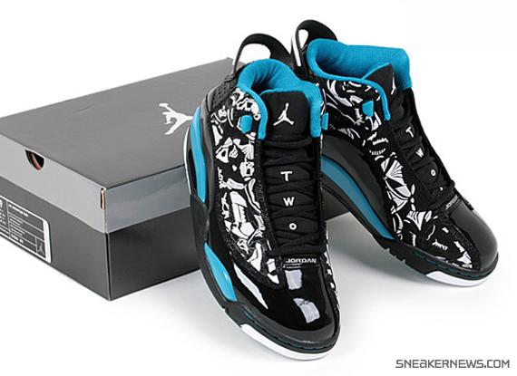 5787813102 ... Jordan Dub Zero - Black - Laser Blue + Black - Taxi - Releas ...