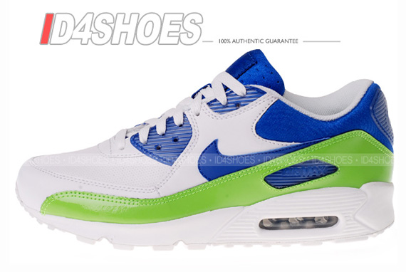 Color: White/Mean Green-Varsity Royal Style: 333888-131. 333888-131-1