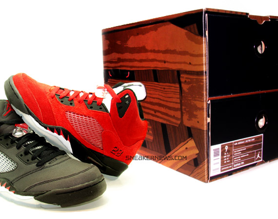 b1ea6e2c5cb0bb Air Jordan V - Toro Bravo Package - Detailed Look - SneakerNews.com