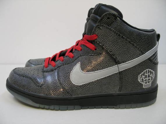 039d6564c Nike Dunk High - 2004 Pharrell N.E.R.D. - Snakeskin Sample