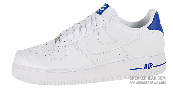 Nike Air Force 1  07 Low - White - Varsity Royal - SneakerNews.com d899565ff