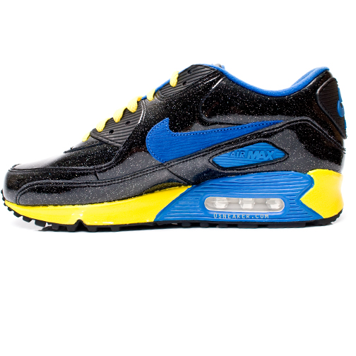 blue and yellow air max 90