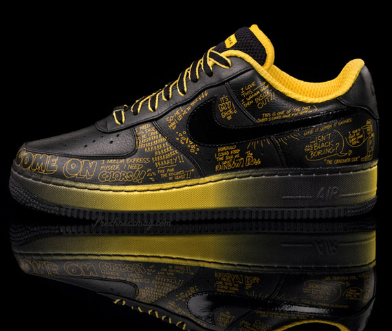 Nike Livestrong x Busy P   SO ME Air Force 1 - Greatest Hits Pack ... 535df158c87b